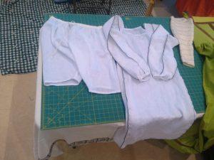 finished undergarments